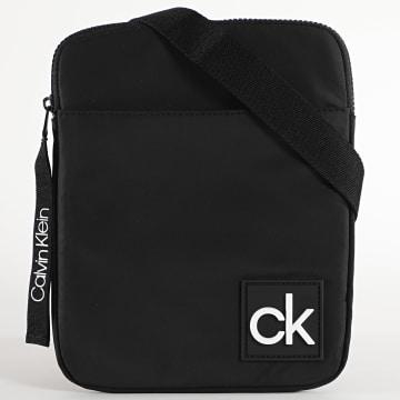 Calvin Klein - Sacoche Flat Pack 6105 Noir