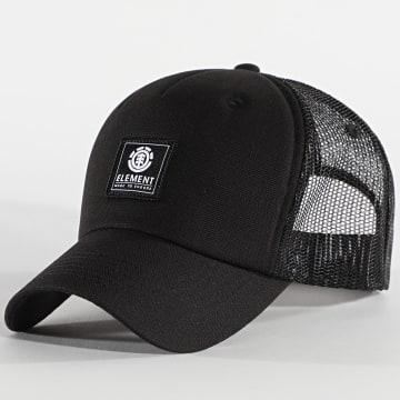Element - Casquette Trucker Icon Mesh Noir