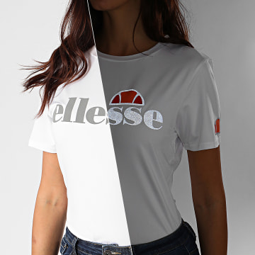 Ellesse - Tee Shirt Femme Giomici SRG09925 Blanc Réfléchissant