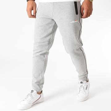 Ellesse - Pantalon Jogging Diruta SXG09897 Gris Chiné Réfléchissant