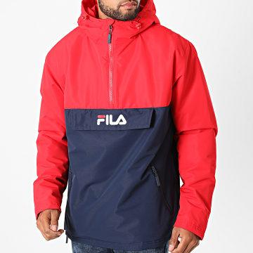 Fila - Veste Outdoor Michirou 687284 Rouge Bleu Marine