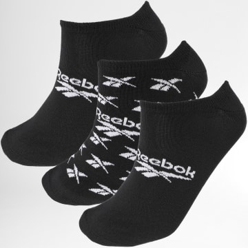 Reebok - Lot De 3 Paires De Socquettes Invisibles GC6679 Noir