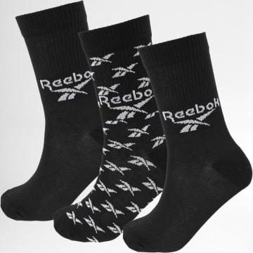 Reebok - Lot De 3 Paires De Chaussettes GC6683 Noir