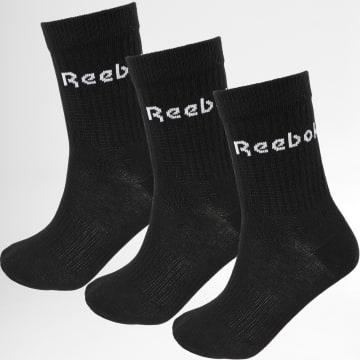 Reebok - Lot De 3 Paires de Chaussettes GH0331 Noir