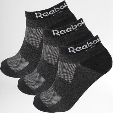 Reebok - Lot De 3 Paires De Socquettes GH0408 Noir