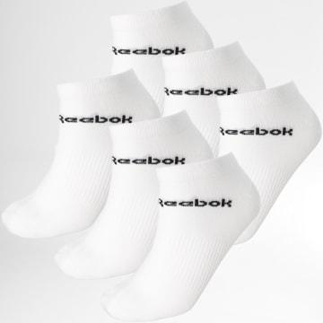 Reebok - Lot De 3 Paires De Chaussettes GH8164 Blanc