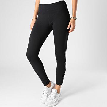 Reebok - Legging Femme TE Linear Logo GH5120 Noir