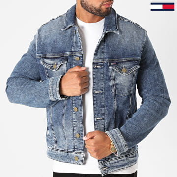 Tommy Jeans - Veste Jean Regular Trucker 8282 Bleu Denim