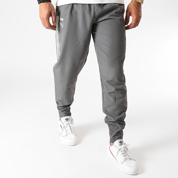 Adidas Performance - Pantalon Jogging A Bandes Real Madrid FC FQ7883 Gris Anthracite