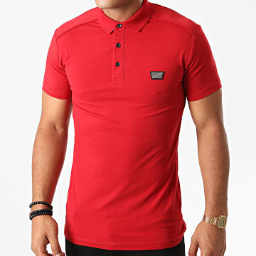 Antony Morato - Polo Manches Courtes MMKS01825 Rouge