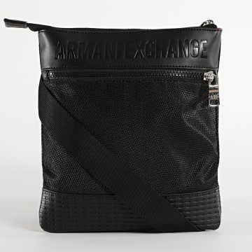 Armani Exchange - Sacoche Small Flat Crossbody 952278-0A831 Noir