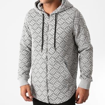 Classic Series - Sweat Zippé Capuche 6001 Gris