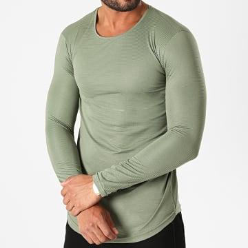 Ikao - Tee Shirt Manches Longues LL153 Vert Kaki