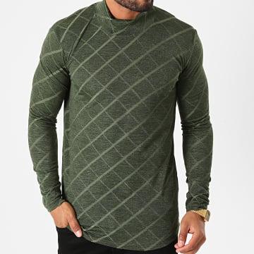 Ikao - Tee Shirt Manches Longues LL152 Vert Kaki