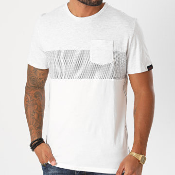 Tom Tailor - Tee Shirt Poche 1021482-XX-10 Blanc