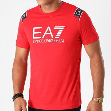 EA7 - Tee Shirt 6HPT58-PJM9Z Rouge