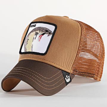 Goorin Bros - Casquette Trucker King Marron
