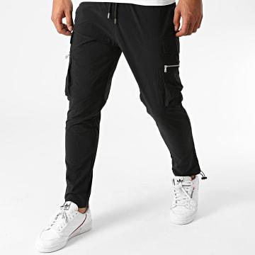 Ikao - Pantalon Cargo LL132 Noir
