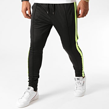 Ikao - Pantalon Jogging A Bandes LL146 Noir
