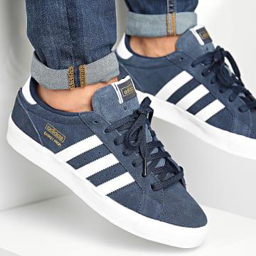 Adidas Originals - Baskets Profi Lo FX3071 Collegiate Navy Footwear White Gold Metallic