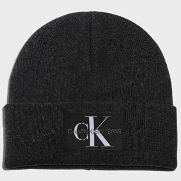 Calvin Klein - Bonnet 6246 Gris Anthracite Chiné