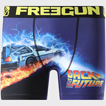 Freegun - Boxer Back To The Future Bleu