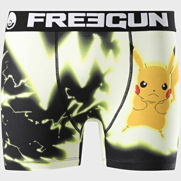 Freegun - Boxer Pokémon Pikachu Noir