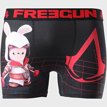 Freegun - Boxer Lapins Crétins Noir