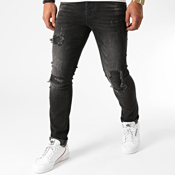 GRJ Denim - Jean Slim 2015 Noir