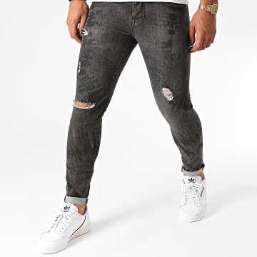 GRJ Denim - Jean Slim 14505 Noir