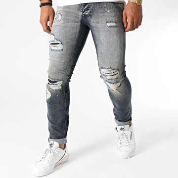 GRJ Denim - Jean Slim 2022 Bleu Denim