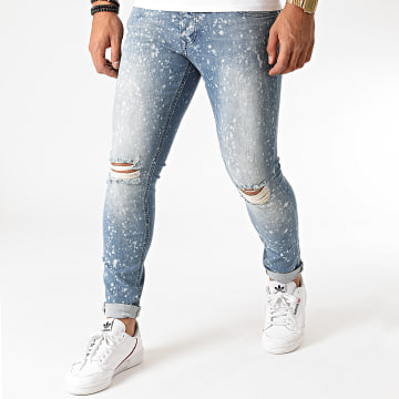 GRJ Denim - Jean Slim 2014 Bleu Denim