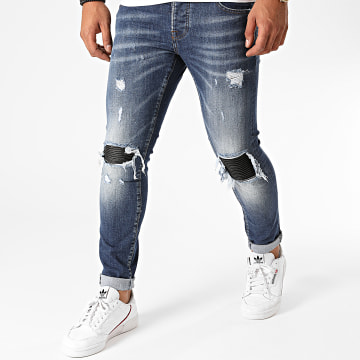 GRJ Denim - Jean Slim 2016 Bleu Denim
