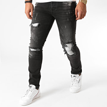 GRJ Denim - Jean Slim 2015-2 Noir