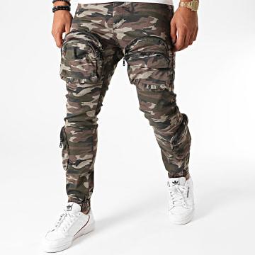 GRJ Denim - Jogger Pant 2017 Vert Kaki Camouflage