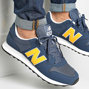 New Balance - Baskets Lifestyle 500 817061 Navy Blue