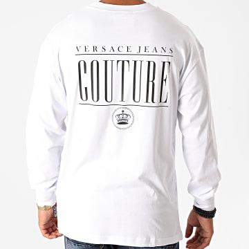 Versace Jeans Couture - Tee Shirt Manches Longues B3GZB7TN-30319 Blanc