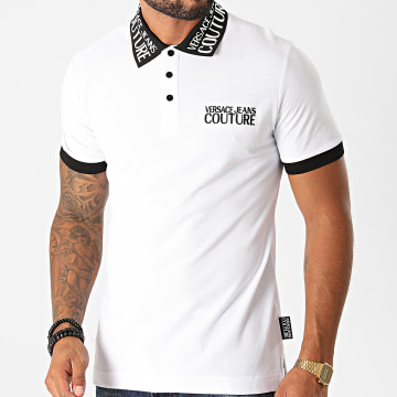 Versace Jeans Couture - Polo Manches Courtes B3GZB7T1-36571 Blanc