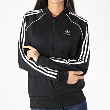 Adidas Originals - Veste Zippée Femme Track Top GD2374 Noir