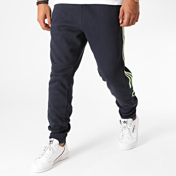adidas - Pantalon Jogging A Bandes 3 Stripes GL7457 Bleu Marine