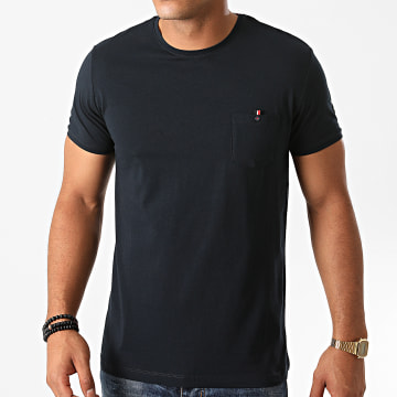 Benson And Cherry - Tee Shirt Poche Tainiston Bleu Marine