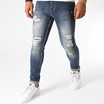 Black Needle - Jean Skinny 2995 Bleu Denim