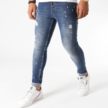 Black Needle - Jean Skinny 3147 Bleu Denim