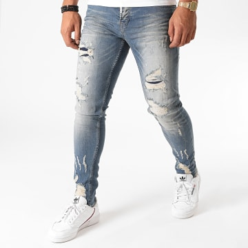 Black Needle - Jean Slim 3224 Bleu Denim