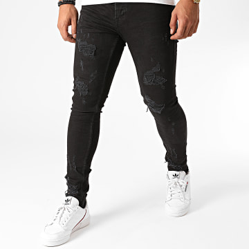 Black Needle - Jean Slim 3224 Noir