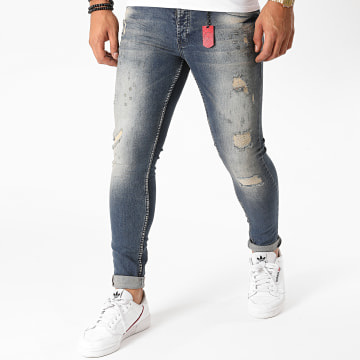 Black Needle - Jean Skinny 3219 Bleu Denim