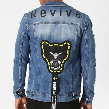 Black Needle - Veste Jean DH-3059 Bleu Denim
