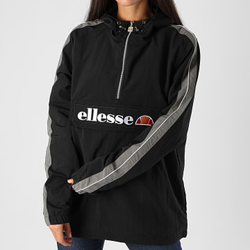 Ellesse - Veste Outdoor Capuche Femme A Bandes Tonvilli SGG06530 Noir