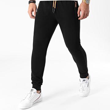 LBO - Pantalon Jogging Fluo Tech 1210 Noir