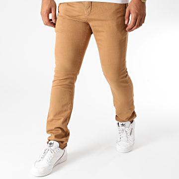 Le Temps Des Cerises - Pantalon Chino Kurt Camel